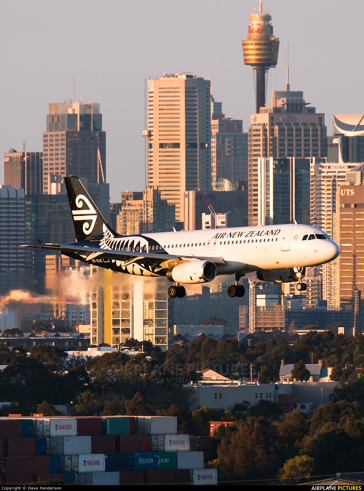 Air New Zealand ZK-OJC aircraft at Sydney - Kingsford Smith Intl, NSW