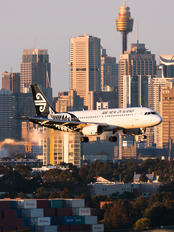 ZK-OJC - Air New Zealand Airbus A319