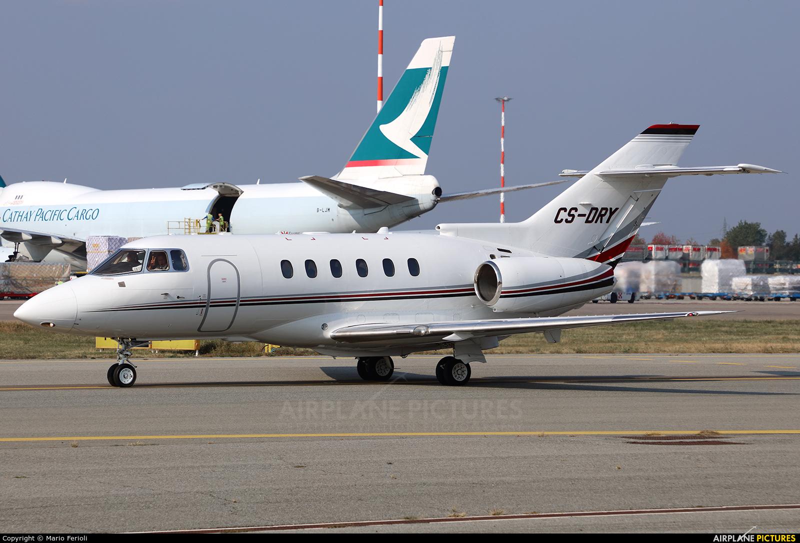 NetJets Europe (Portugal) CS-DRY aircraft at Milan - Malpensa