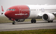 EI-FYI - Norwegian Air International Boeing 737-8 MAX aircraft