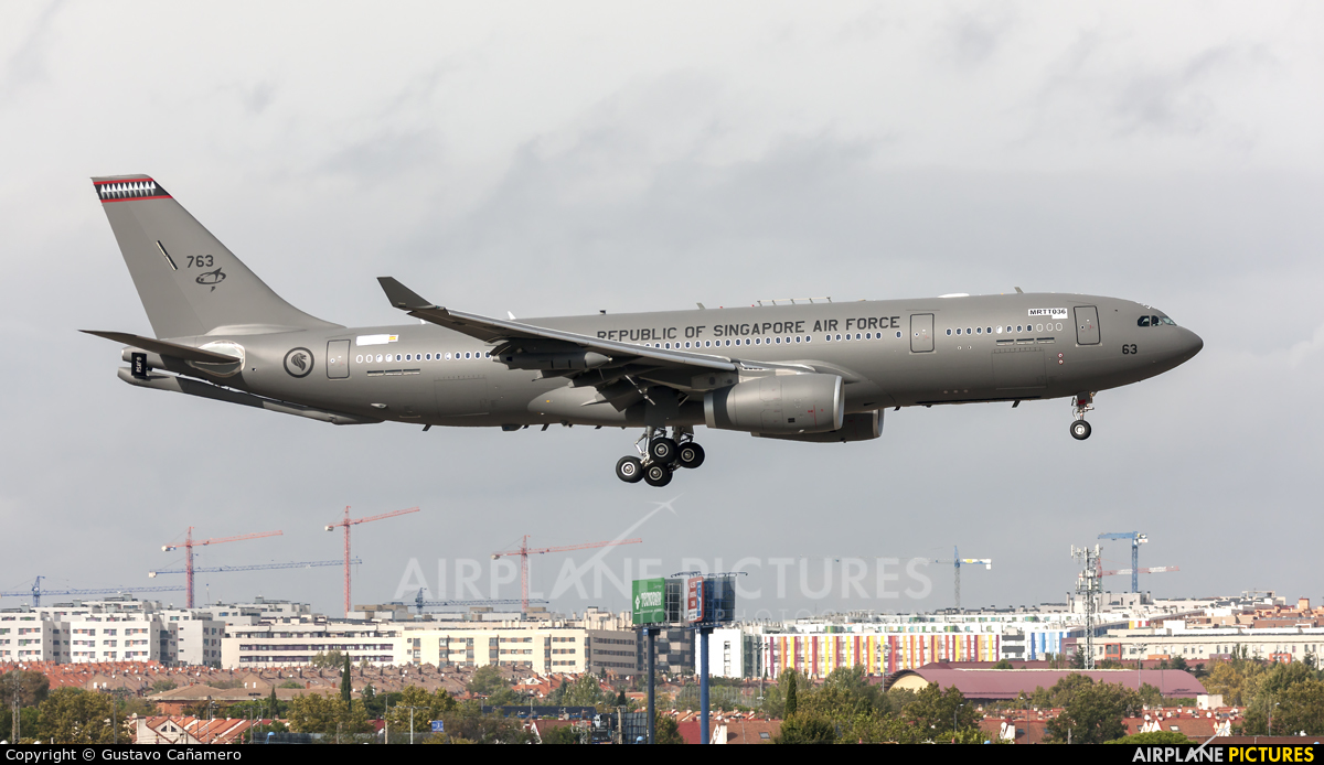 Airbus Military MRTT036 aircraft at Madrid - Getafe