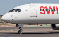 HB-JCF - Swiss Bombardier CS300 aircraft
