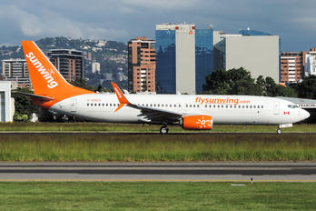 C-GBZS - Sunwing Airlines Boeing 737-800