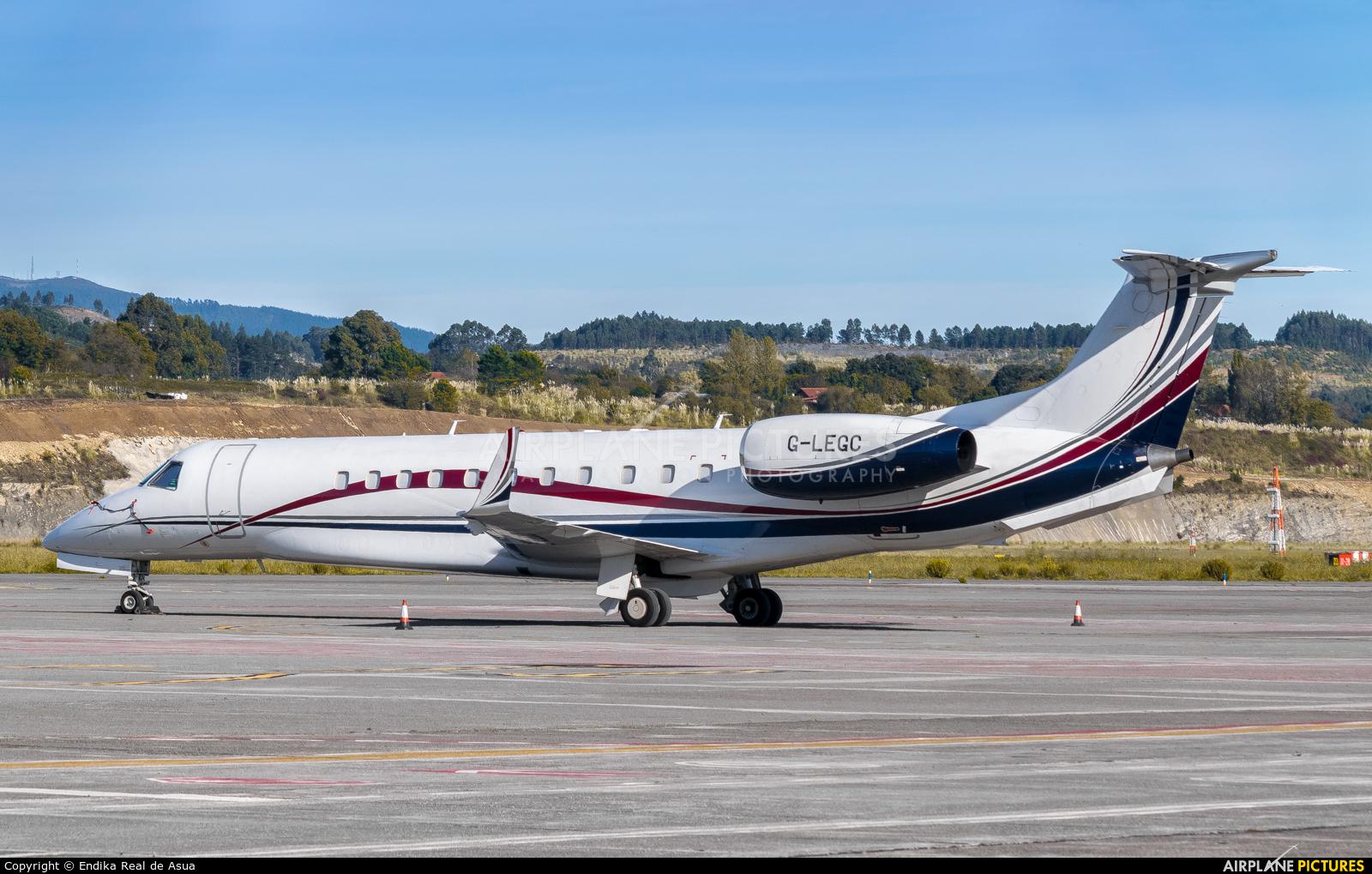 London Executive Aviation G-LEGC aircraft at Bilbao