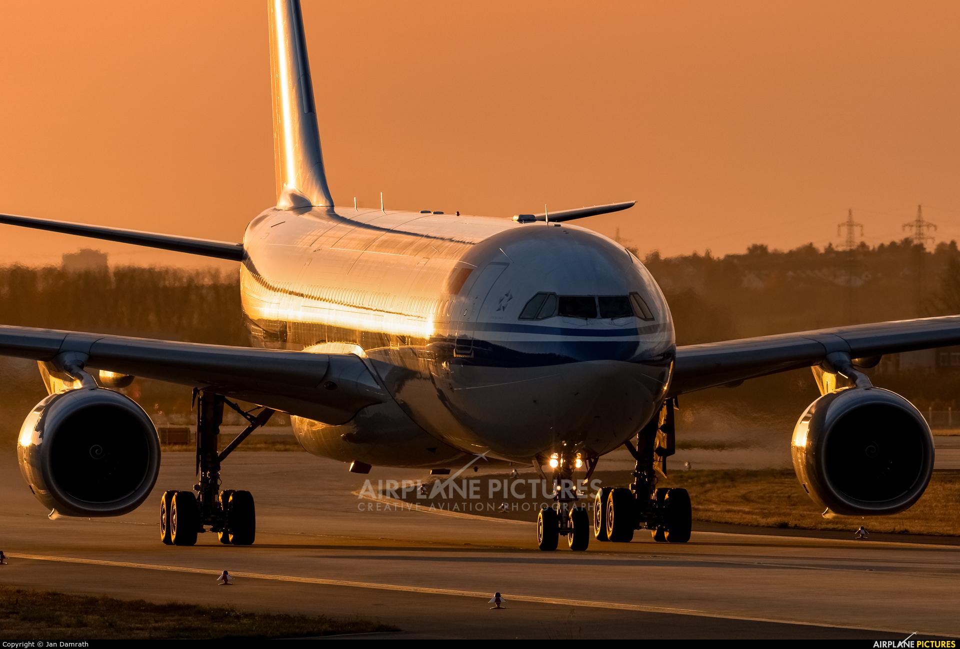 Air China B-6073 aircraft at Frankfurt