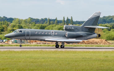 LX-LXL - Global Jet Luxembourg Dassault Falcon 900 series