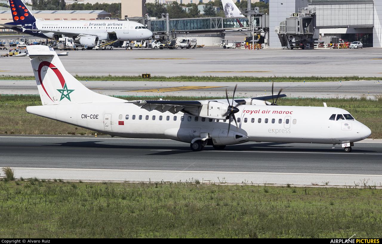 Royal Air Maroc CN-COE aircraft at Málaga