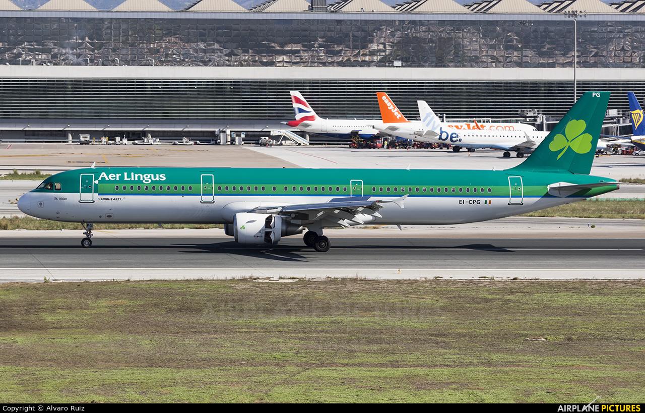 Aer Lingus EI-CPG aircraft at Málaga