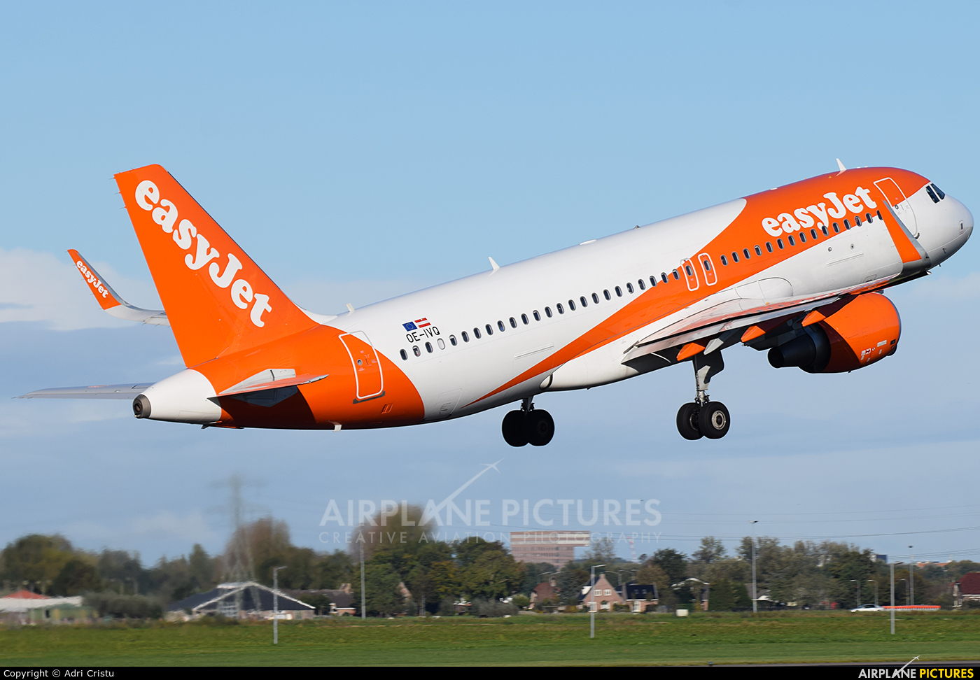 easyJet Europe OE-IVQ aircraft at Amsterdam - Schiphol