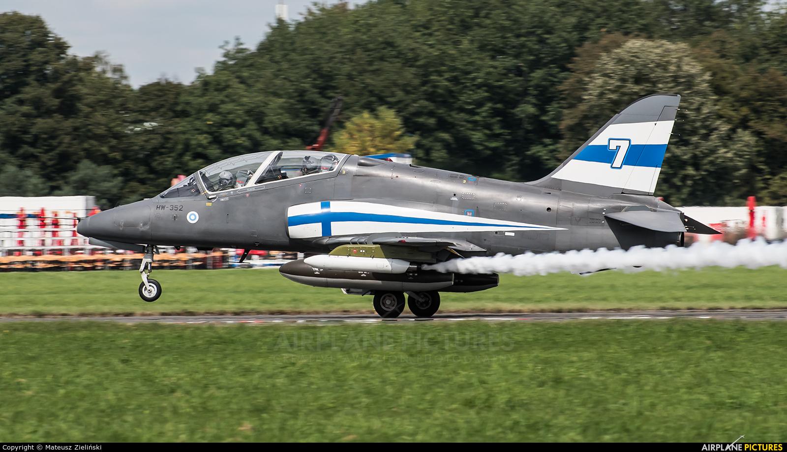 Finland - Air Force HW-352 aircraft at Radom - Sadków