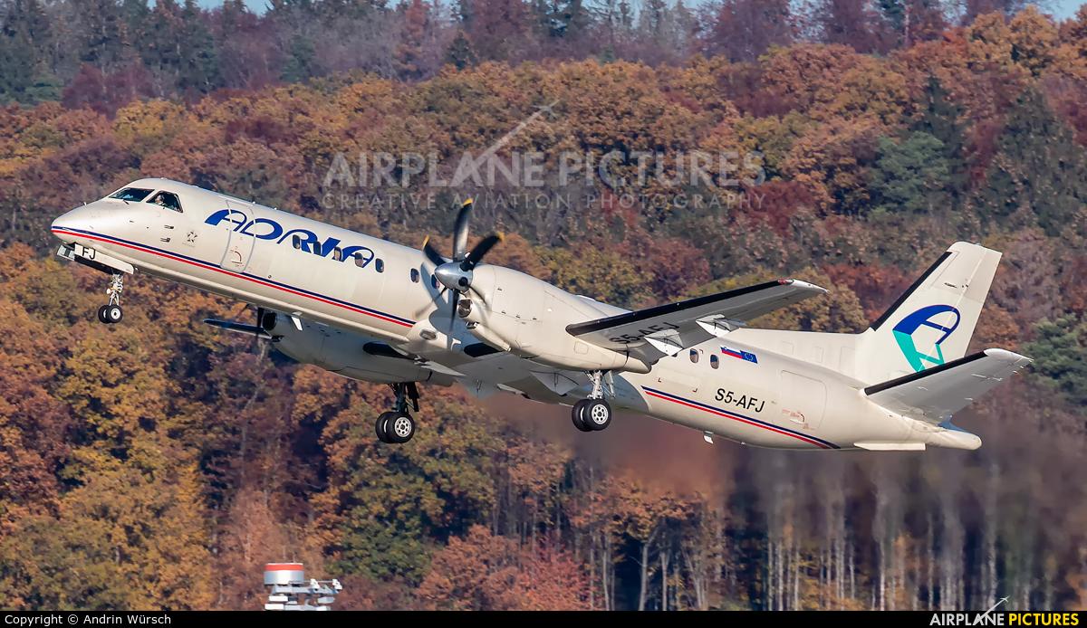 Adria Airways S5-AFJ aircraft at Zurich