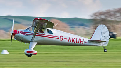 G-AKUH - Private Luscombe 8E Silvaire Deluxe