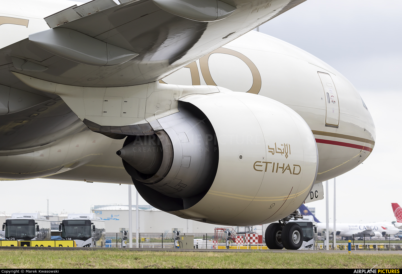 Etihad Cargo A6-DDC aircraft at Amsterdam - Schiphol