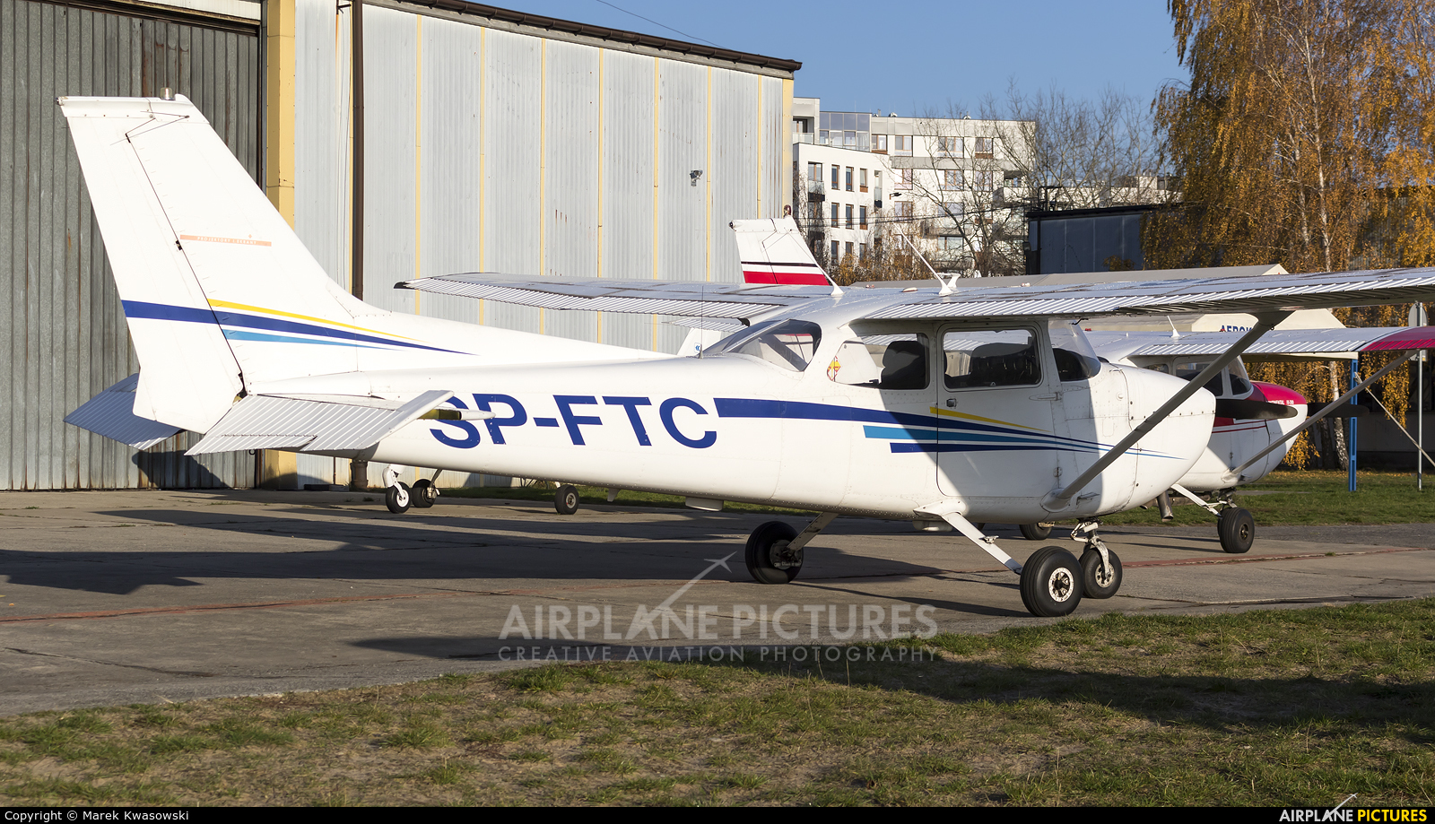 Private SP-FTC aircraft at Warsaw - Babice