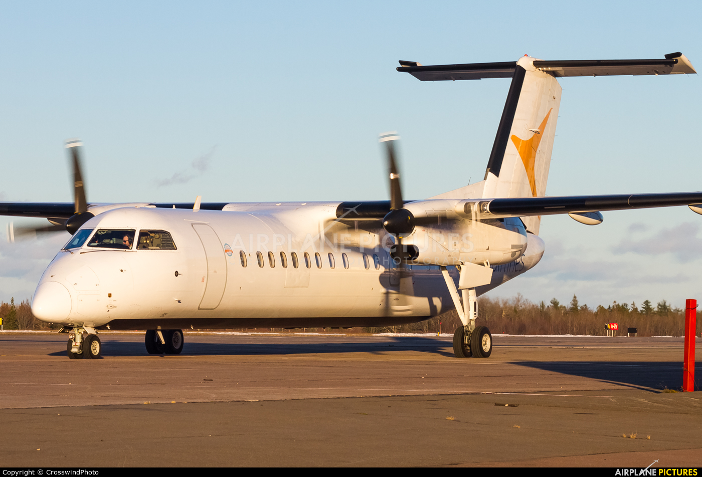 PAL Airlines C-GYCV aircraft at greater Moncton International