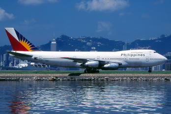 N743PR - Philippines Airlines Boeing 747-200