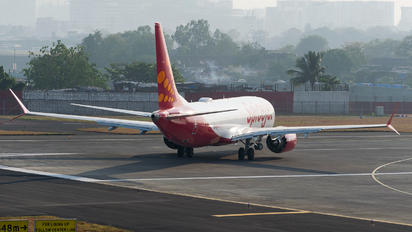 VT-MXD - SpiceJet Boeing 737-8 MAX