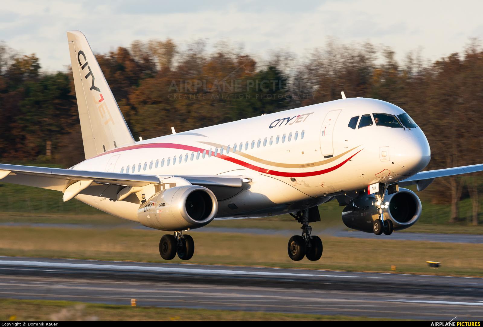 CityJet EI-FWA aircraft at Basel - Mulhouse- Euro