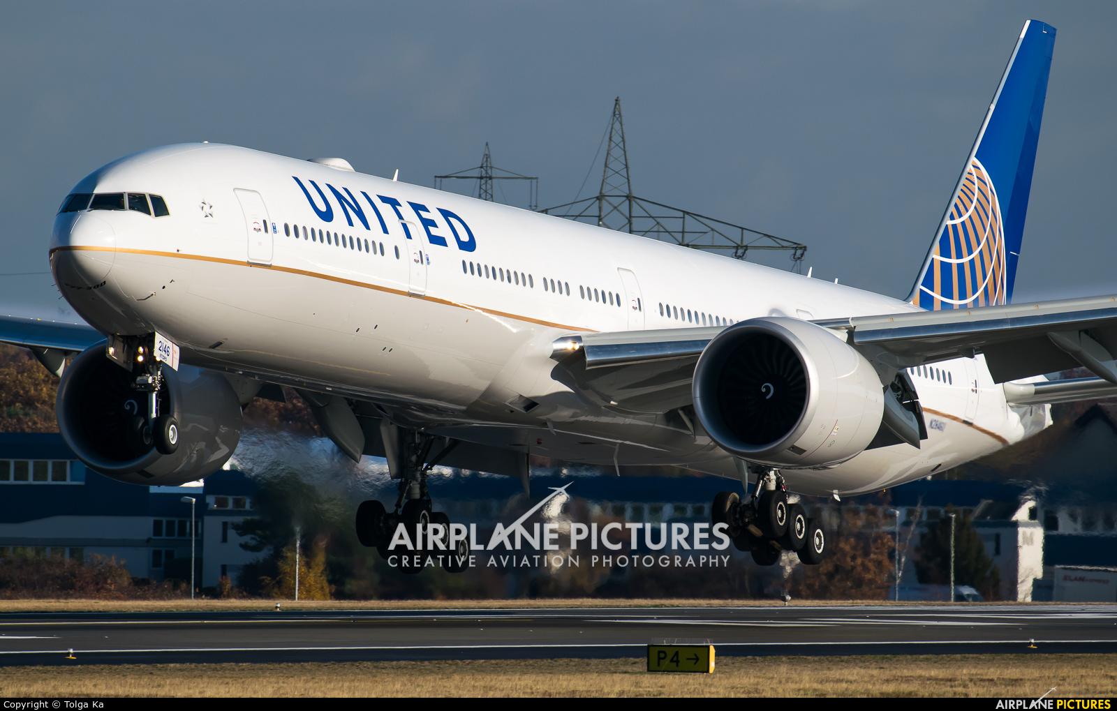 United Airlines N2846U aircraft at Frankfurt