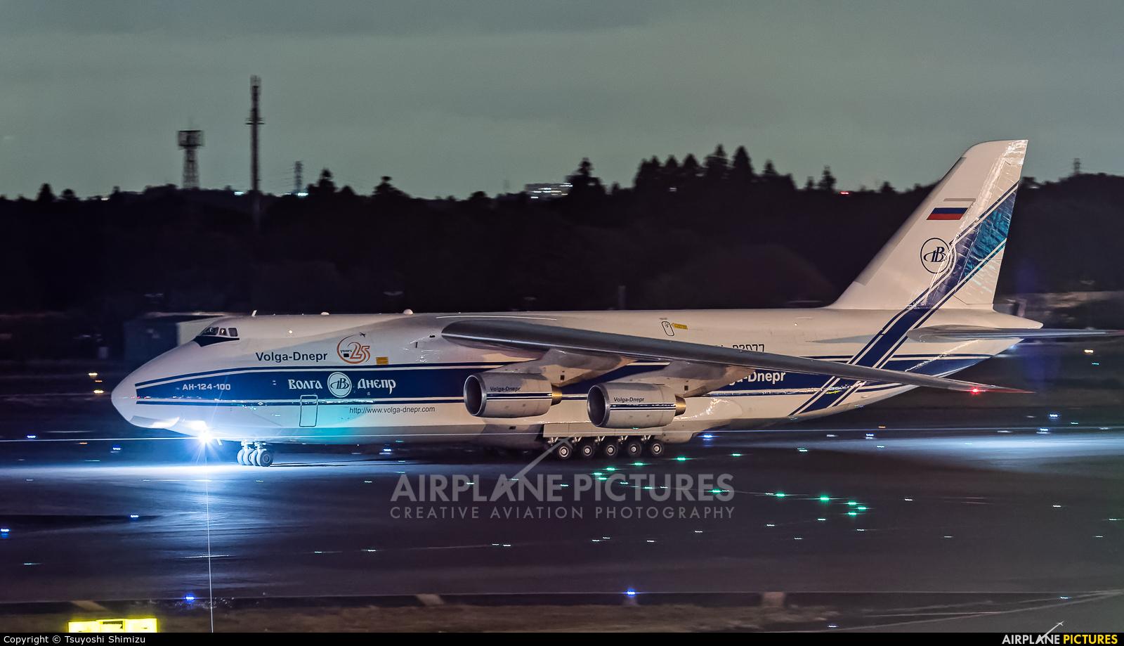 Volga-Dnepr RA-82077 aircraft at Tokyo - Narita Intl