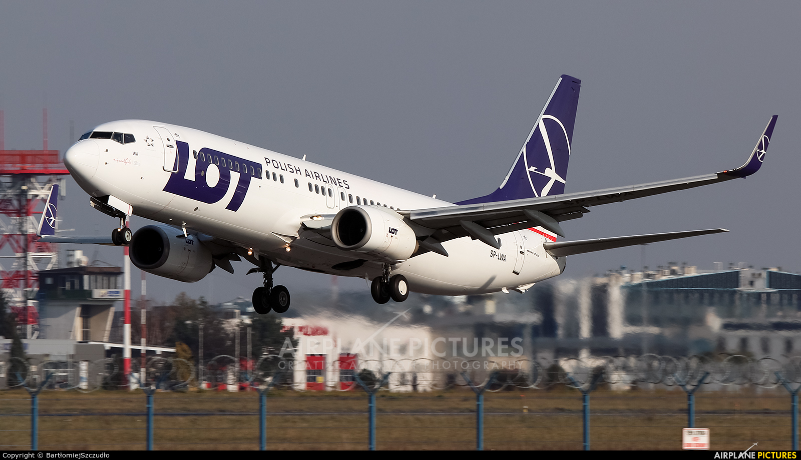 LOT - Polish Airlines SP-LWA aircraft at Rzeszów-Jasionka
