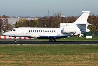 OO-EJA - Abelag Aviation Dassault Falcon 7X