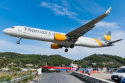 G-TCDO - Thomas Cook Airbus A321 aircraft