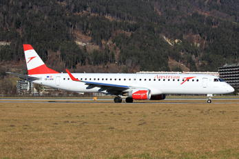 OE-LWQ - Austrian Airlines/Arrows/Tyrolean Embraer ERJ-195 (190-200)