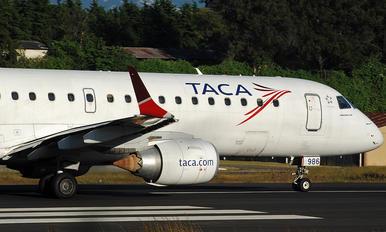 N986TA - TACA Embraer ERJ-190 (190-100)