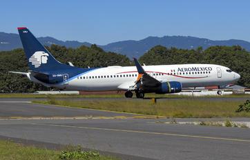 XA-AMJ - Aeromexico Boeing 737-800