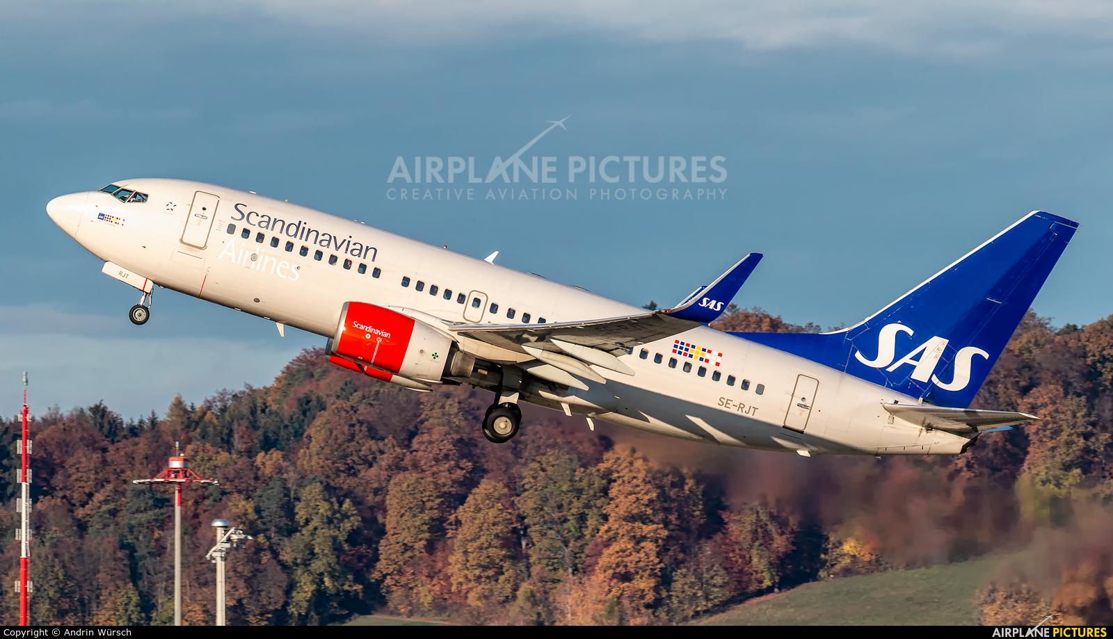 SAS - Scandinavian Airlines SE-RJT aircraft at Zurich