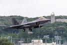 USA - Air Force Lockheed Martin F-22A Raptor 06-4117 at Yokota AB airport