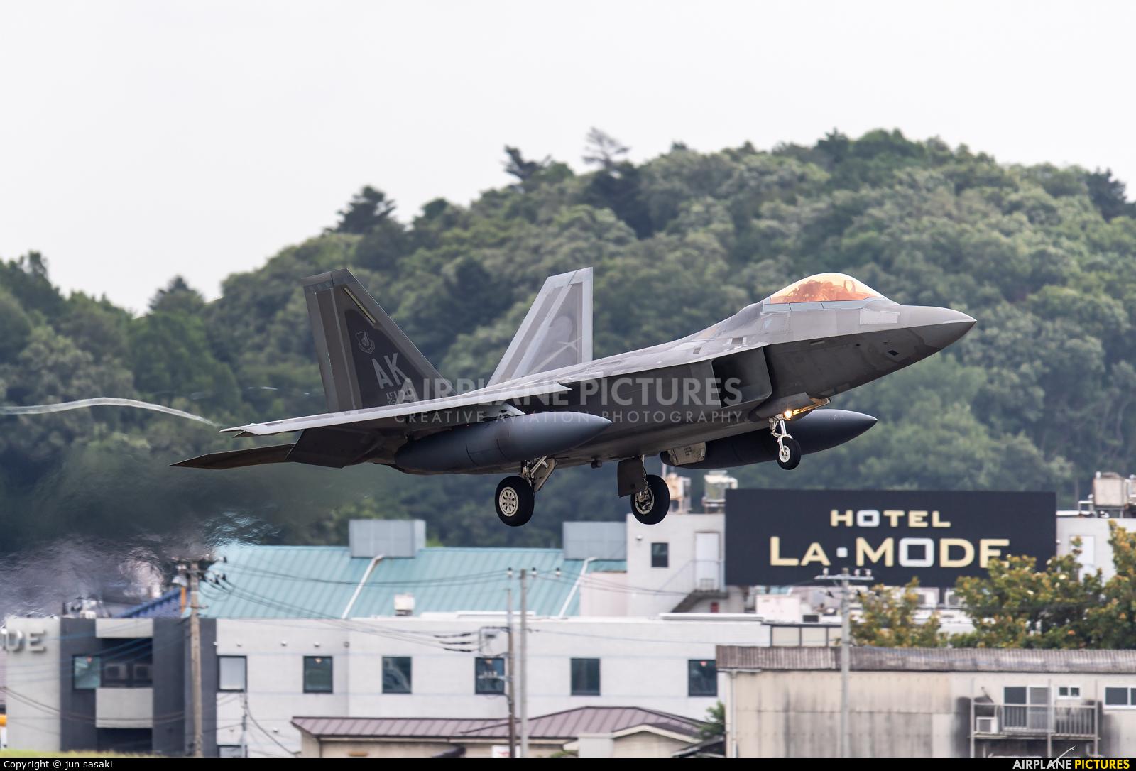 USA - Air Force 06-4129 aircraft at Yokota AB