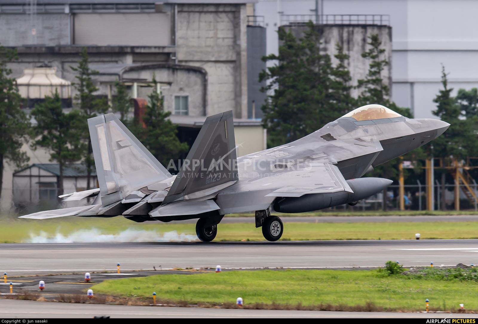 USA - Air Force 06-4123 aircraft at Yokota AB