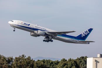 JA708A - ANA - All Nippon Airways Boeing 777-200