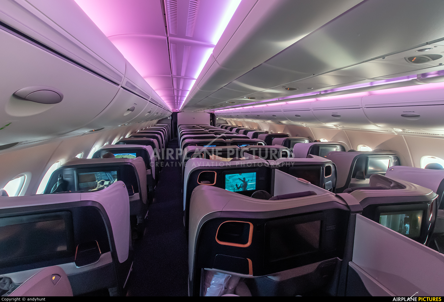 Singapore Airlines 9V-SKY aircraft at In Flight - International