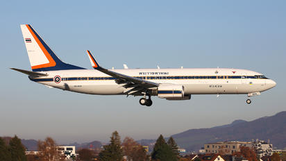 HS-MVS - Thailand - Air Force Boeing 737-800 BBJ