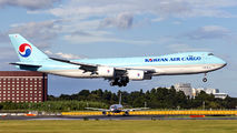 HL7624 - Korean Air Cargo Boeing 747-8F aircraft
