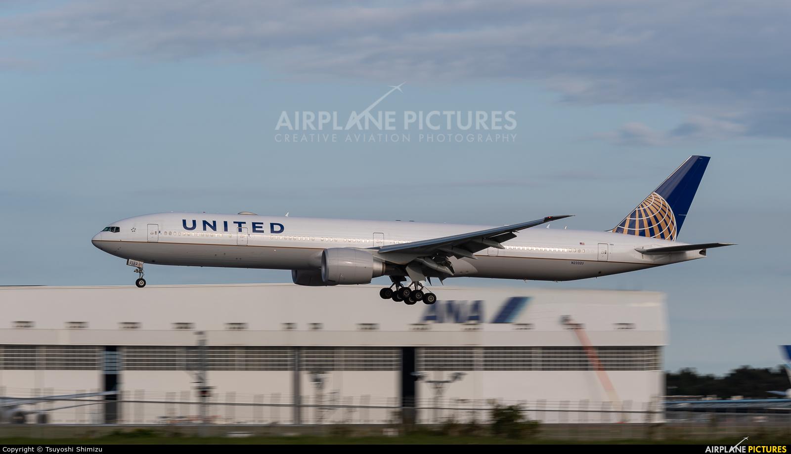 United Airlines N2332U aircraft at Tokyo - Narita Intl