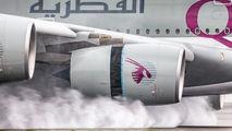 A7-APC - Qatar Airways Airbus A380 aircraft