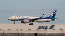 JA211A - ANA - All Nippon Airways Airbus A320 NEO aircraft