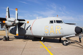 D.2-02 - Spain - Air Force Fokker F27-200MAR Friendship