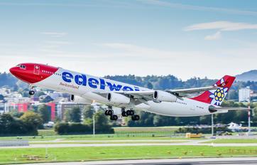 HB-JMD - Edelweiss Airbus A340-300