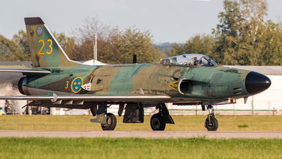 SE-RMD - Swedish Air Force Historic Flight SAAB J 32 Lansen