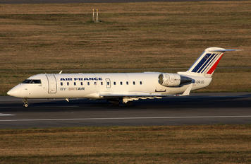 F-GRJG - Air France - Brit Air Canadair CL-600 CRJ-100