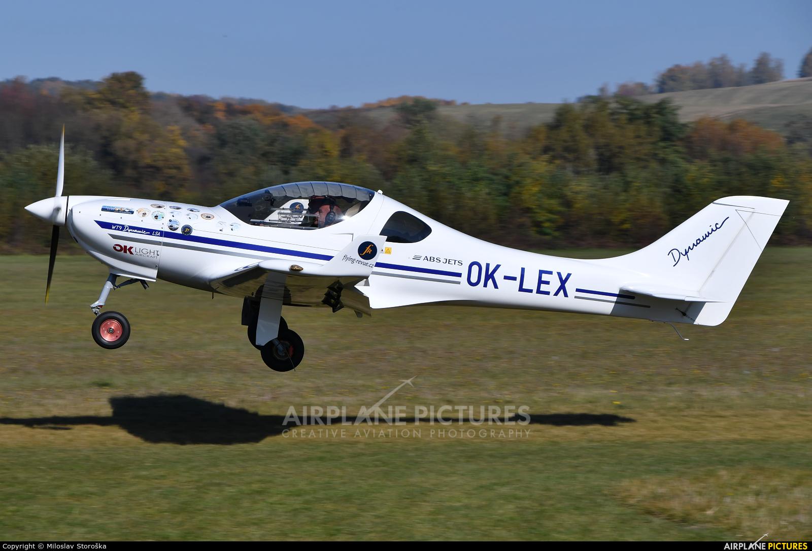 Private OK-LEX aircraft at Očová