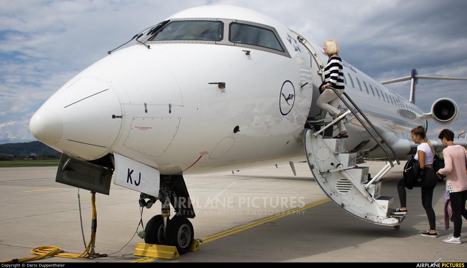Lufthansa Regional - CityLine D-ACKJ aircraft at Graz