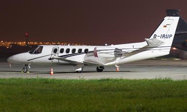 D-IRUP - Private Cessna 551 Citation II SP