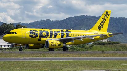N505NK - Spirit Airlines Airbus A319