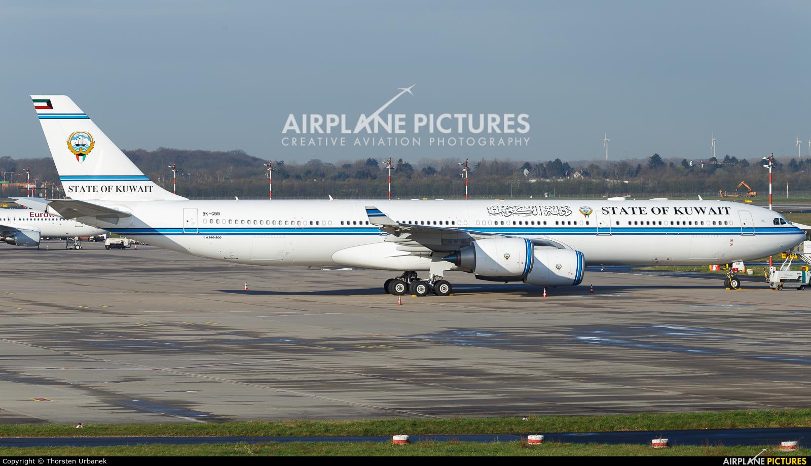 Kuwait - Government 9K-GBB aircraft at Düsseldorf